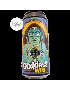 Bière Wild Goddess Imperial Neipa Nitro 44 cl Brasserie Pyrene