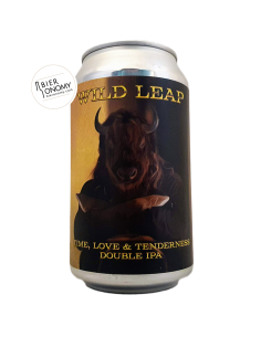 Bière Time Love & Tenderness DIPA 35,5 cl Brasserie Wild Leap