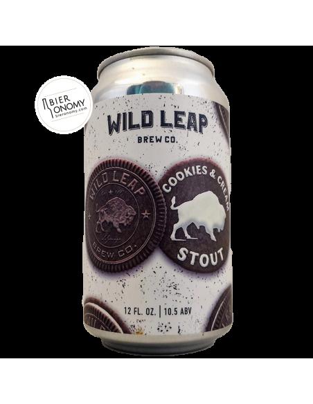 Bière Cookies & Cream Stout 35,5 cl Brasserie Wild Leap