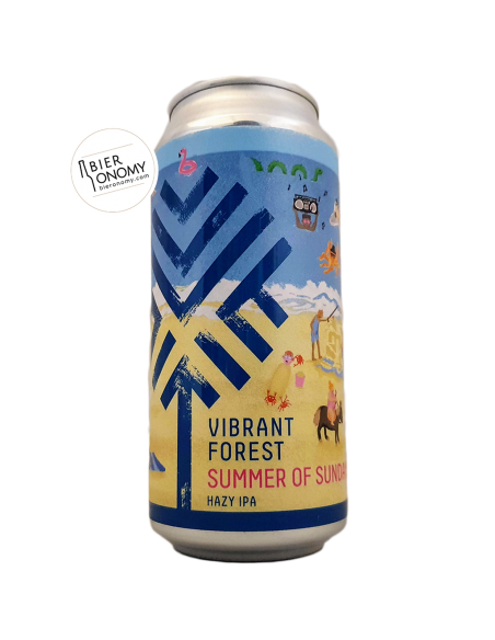 Bière Summer of Sundays Hazy IPA 44 cl Brasserie Vibrant Forest Brewery