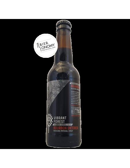 Bière Bourbon Oktober RIS Bourbon BA 33 cl Brasserie Vibrant Forest