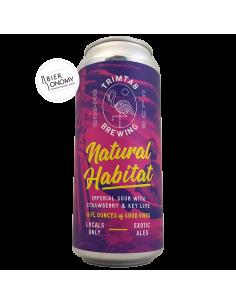 Bière Natural Habitat Imperial Sour 47,3 cl Brasserie TrimTab