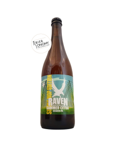 Bière Summer Citra Session IPA 70 cl Brasserie Raven
