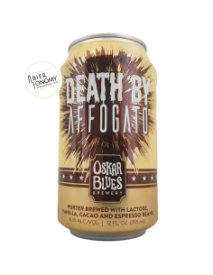 Bière Death By Affogato Porter 35,5 cl Brasserie Oskar Blues Brewery
