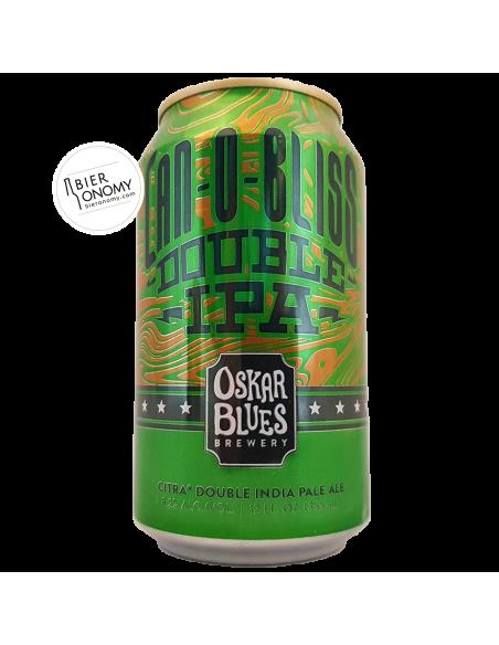 Bière Can-O-Bliss Double IPA 35,5 cl Brasserie Oskar Blues Brewery