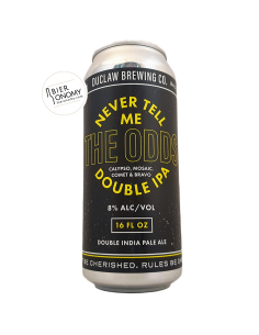 Bière Never Tell Me the Odds Double IPA 47,8 cl Brasserie DuClaw Brewing
