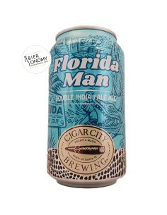 Bière Florida Man Double IPA 35,5 cl Brasserie Cigar City