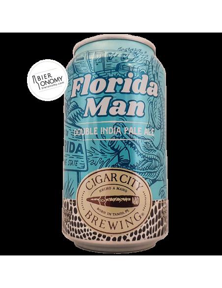 Bière Florida Man Double IPA 35,5 cl Brasserie Cigar City