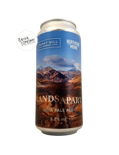 Bière Lands Apart IPA 44 cl Brasserie Burnt Mill x Northern Monk