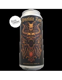 Bière Absolute Zero (Ghost 850) West Coast Triple IPA 47,3 cl Brasserie Adroit Theory