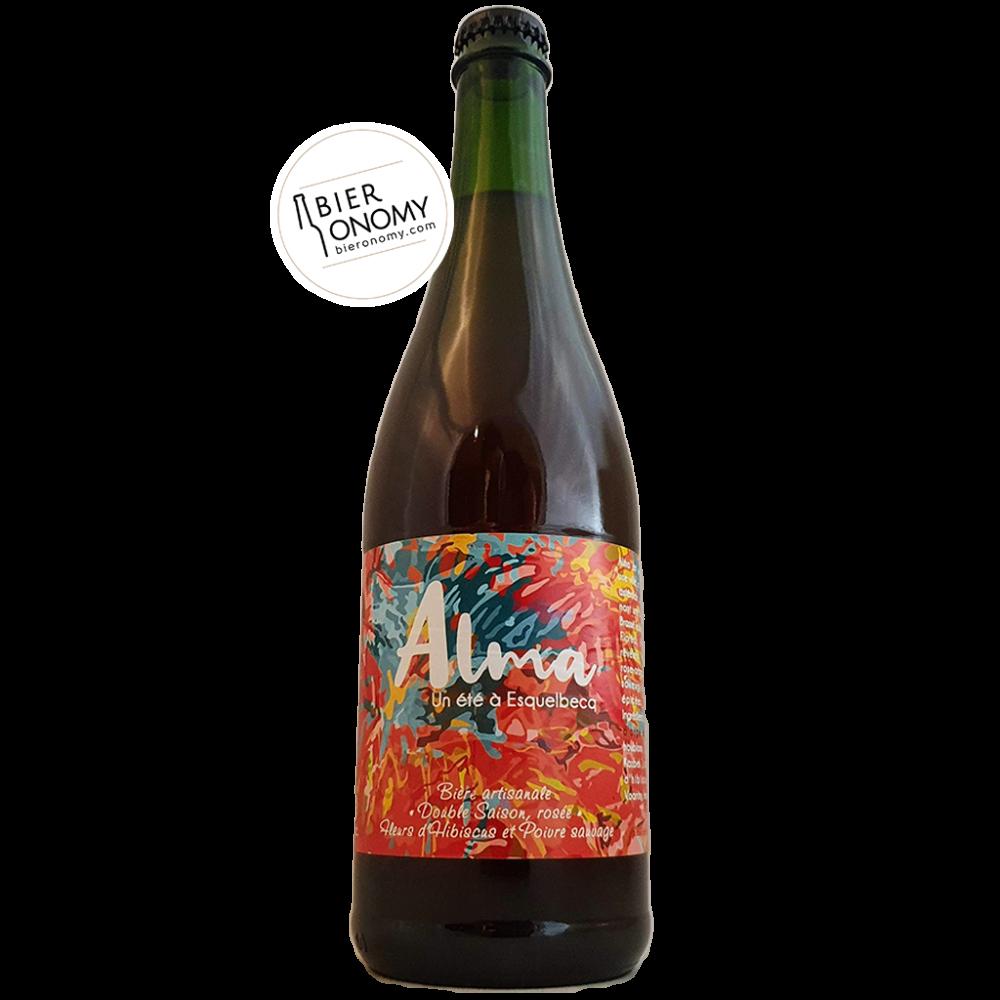 Bière Alma Double Saison 75 cl Brasserie Thiriez