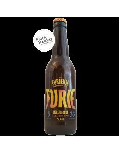 Bière Furie Blonde Pale Ale 33 cl Brasserie La Furieuse