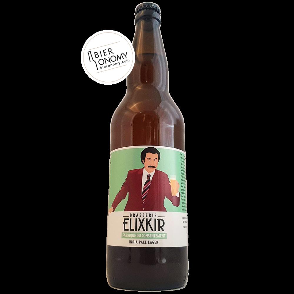 Bière India Pale Lager Fabrique Du Consentement 66 cl Brasserie Elixkir