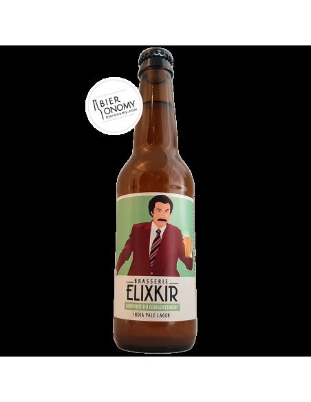 Bière India Pale Lager Fabrique Du Consentement 33 cl Brasserie Elixkir