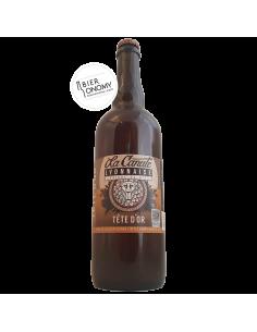 Bière Tête d'Or Pale Ale 75 cl Brasserie La Canute Lyonnaise