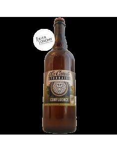 Bière Confluence Belgian Blonde 75 cl Brasserie La Canute Lyonnaise