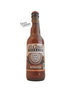 Bière X Rousse Amber Ale 33 cl Brasserie La Canute Lyonnaise
