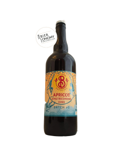 Bière Éphémère 3 Apricot Appletree Smoked Kveik 75 cl Brasserie Les Deux Branches