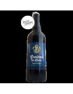 Bière Graines De Lune Hopfenweizen 75 cl Brasserie Les Deux Branches