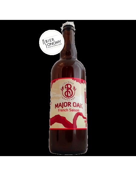 Bière Major Oak French Saison 75 cl Brasserie Les Deux Branches
