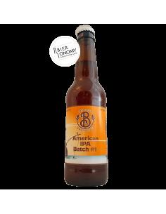 Bière Éphémère 1 American IPA 33 cl Brasserie Les Deux Branches