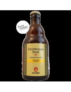 Bière Farmhouse Sour 1 Kweepeer Quince 33 cl Brasserie Alvinne