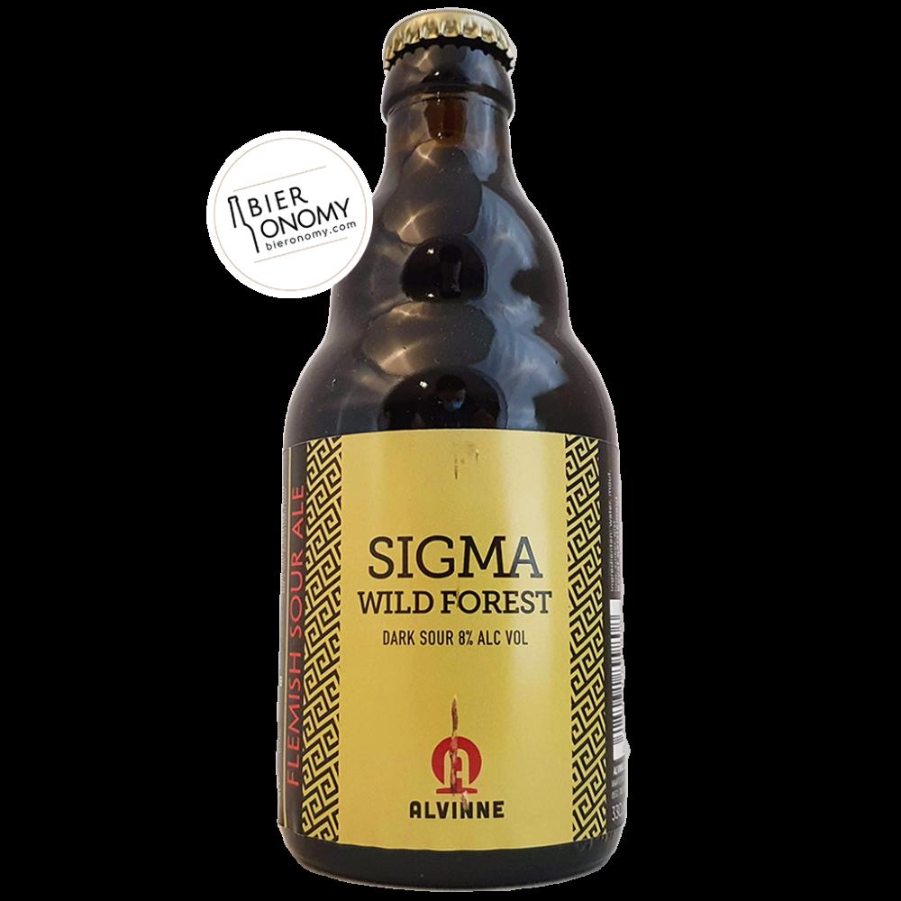 Bière Sigma Wild Forest Dark Sour 33 cl Brasserie Alvinne