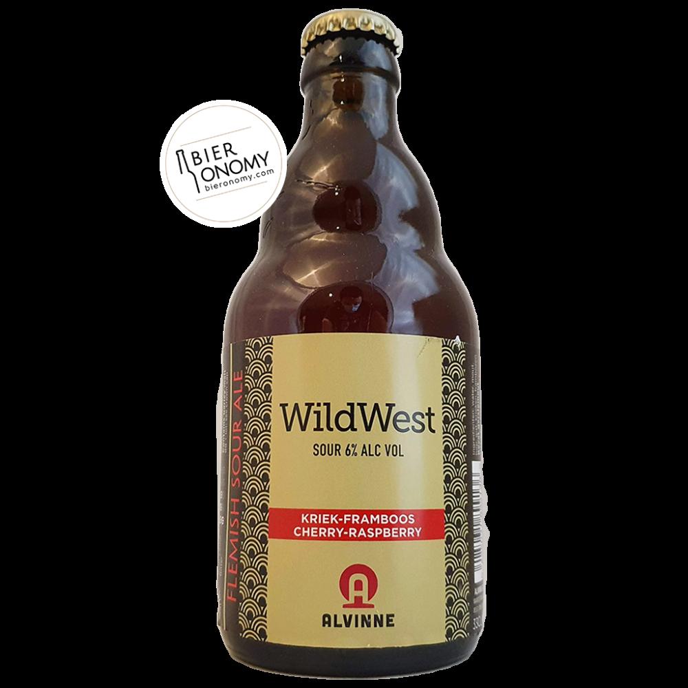 Bière Wild West Kriek-Framboos Sour 33 cl Brasserie Alvinne