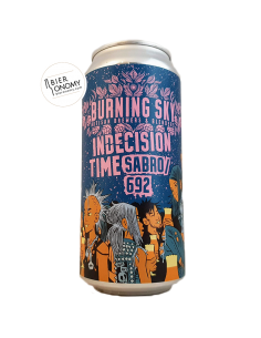 Bière Indecision Time Sabro 692 Pale Ale 44 cl Brasserie Burning Sky