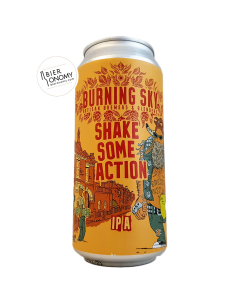 Bière Shake Some Action IPA 44 cl Brasserie Burning Sky