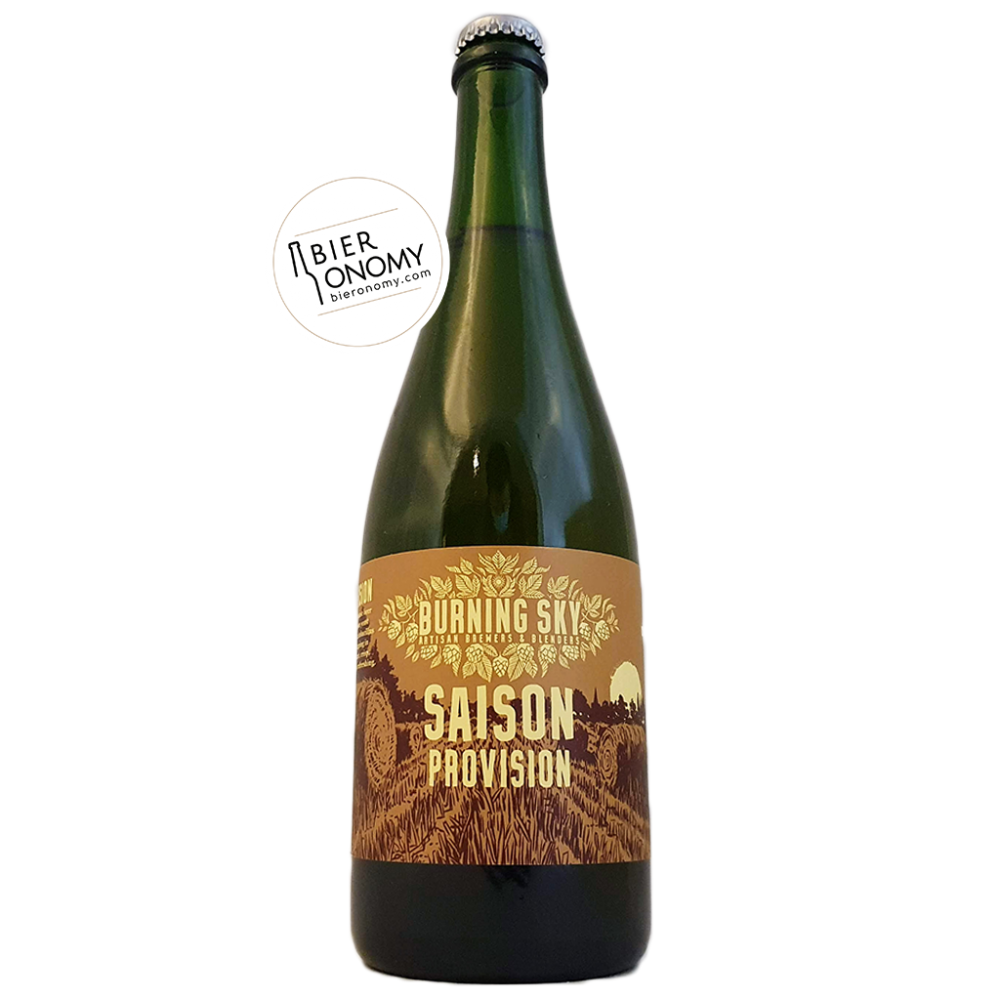 Bière Saison Provision 2020 75 cl Brasserie Burning Sky