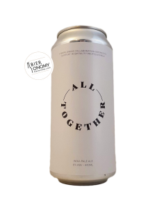 Bière All Together IPA 44 cl Brasserie Cloudwater