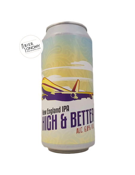 Bière High & Better NEIPA 44 cl Brasserie du Grand Paris x Dry & Bitter