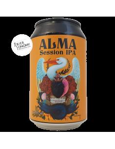 Bière Alma Session IPA 33 cl Brasserie La Débauche