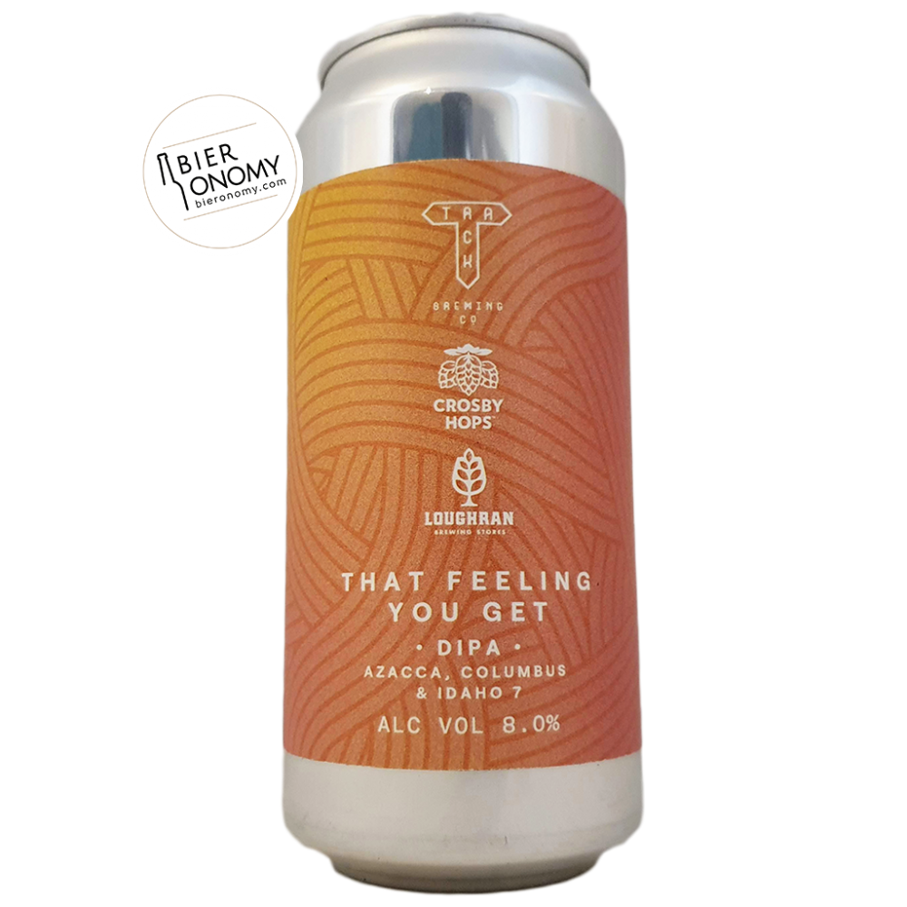 Bière That Feeling You Get DIPA 44 cl Brasserie Track Brewing