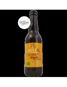 Bière La Mulette Blonde Pale Ale 33 cl Brasserie La Vieille Mule