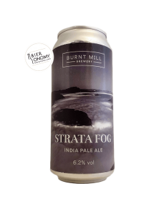 Bière Strata Fog IPA 44 cl Brasserie Burnt Mill