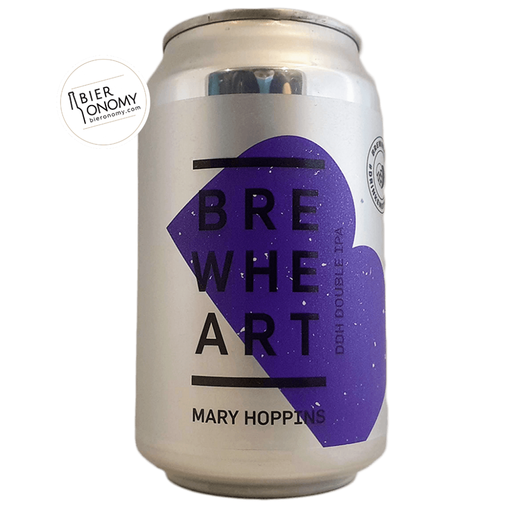 Bière Mary Hoppins DDH Double IPA 33 cl Brasserie BrewHeart