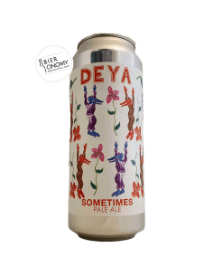 Bière Sometimes Pale Ale 50 cl Brasserie DEYA Brewing