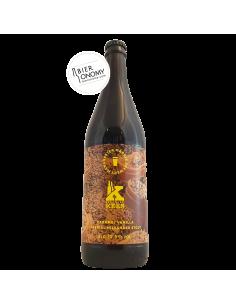 Bière Caramel Vanilla Imperial Milkshake Stout 66 cl Brasserie Marble x Kees