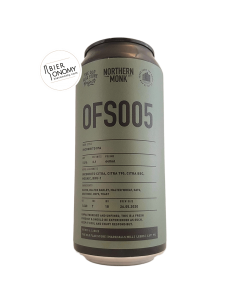 Bière OFS005 IPA 44 cl Brasserie Northern Monk Brew Co