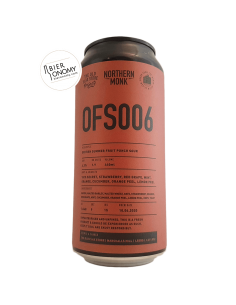 Bière OFS006 Fruit Punch Sour 44 cl Brasserie Northern Monk Brew Co
