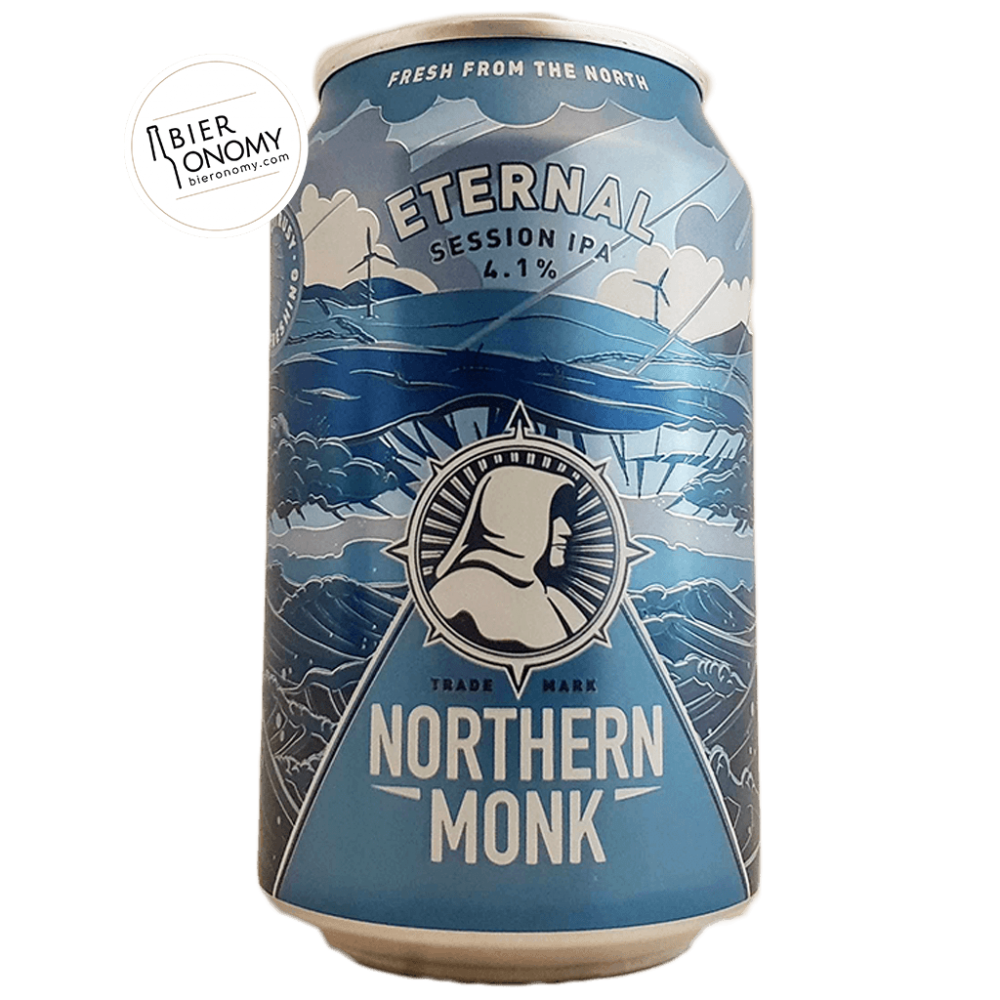 Bière Eternal Session IPA 33 cl Brasserie Northern Monk Brew Co