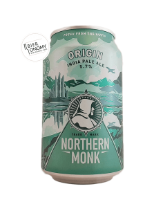 Bière Origin Gluten-Free IPA 33 cl Brasserie Northern Monk Brew Co
