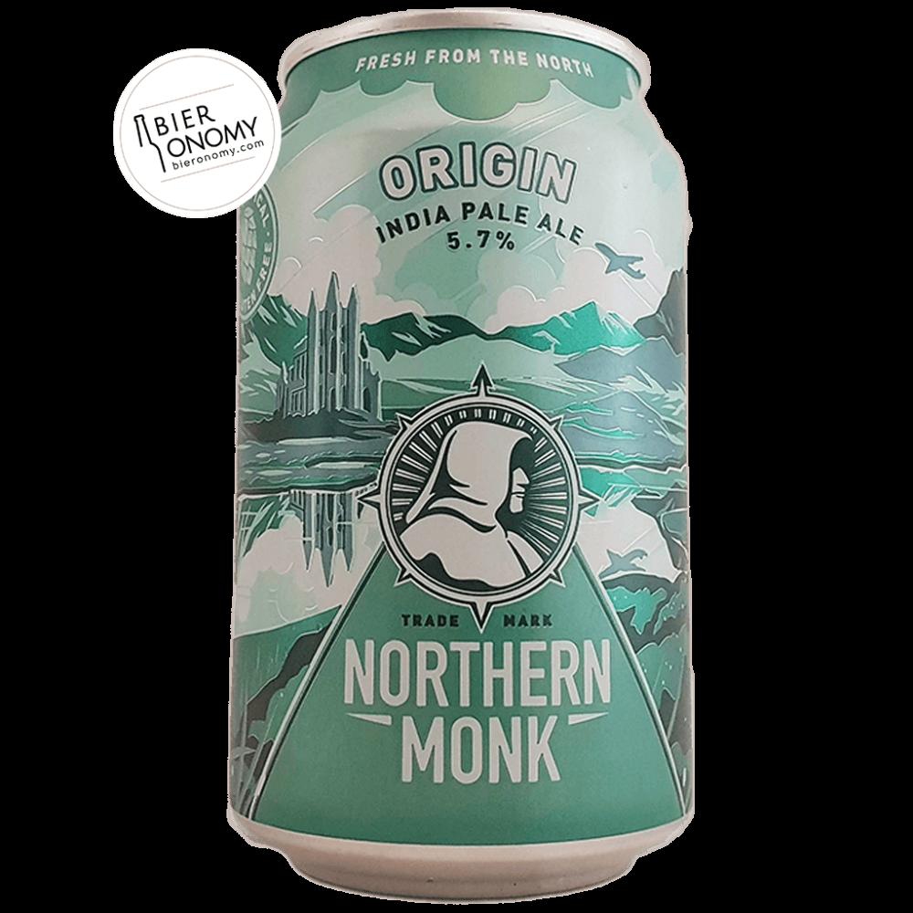 Bière Origin Gluten-Free IPA 33 cl Brasserie Northern Monk Brew Co