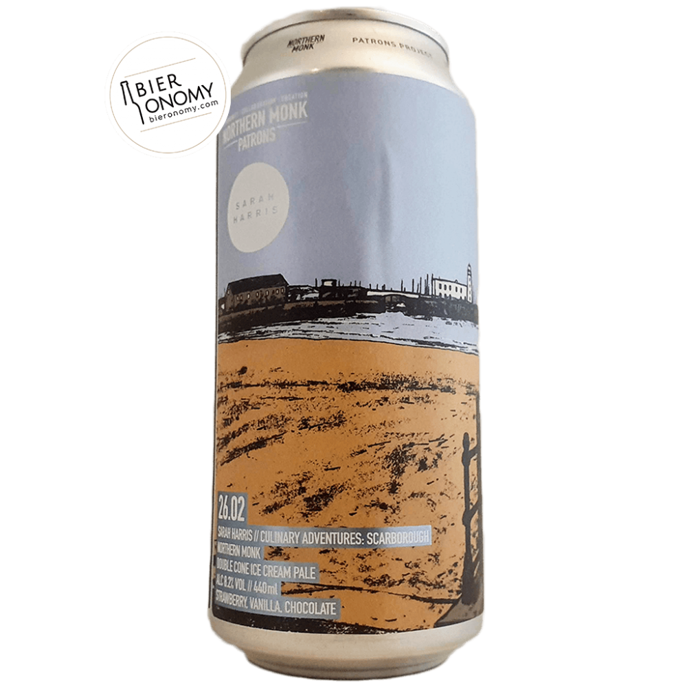 Bière Patrons Project 26.02 Double Cone Ice Pale 44 cl Brasserie Northern Monk Brew Co