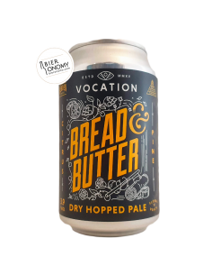 Bière Bread & Butter Dry Hopped Pale 33 cl Brasserie Vocation Brewery