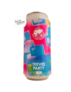 Bière Teevee Party Gose 44 cl Brasserie Lost And Grounded