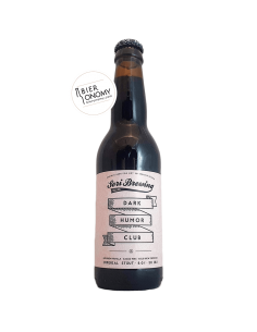 Bière Dark Humor Club Bourbon Vanilla Imperial Stout 33 cl Brasserie Sori Brewing
