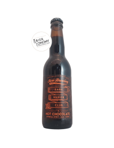 Bière Dark Humor Club Hot Chocolate Imperial Stout 33 cl Brasserie Sori Brewing